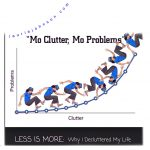 mo clutter, mo problems
